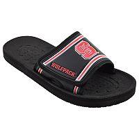 Adult North Carolina State Wolfpack Slide Sandals