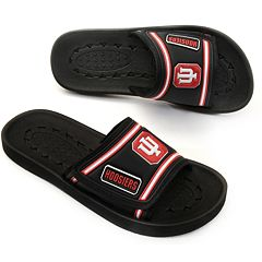Adult Indiana Hoosiers Slide Sandals