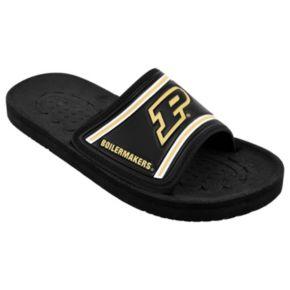 Adult Purdue Boilermakers Slide Sandals