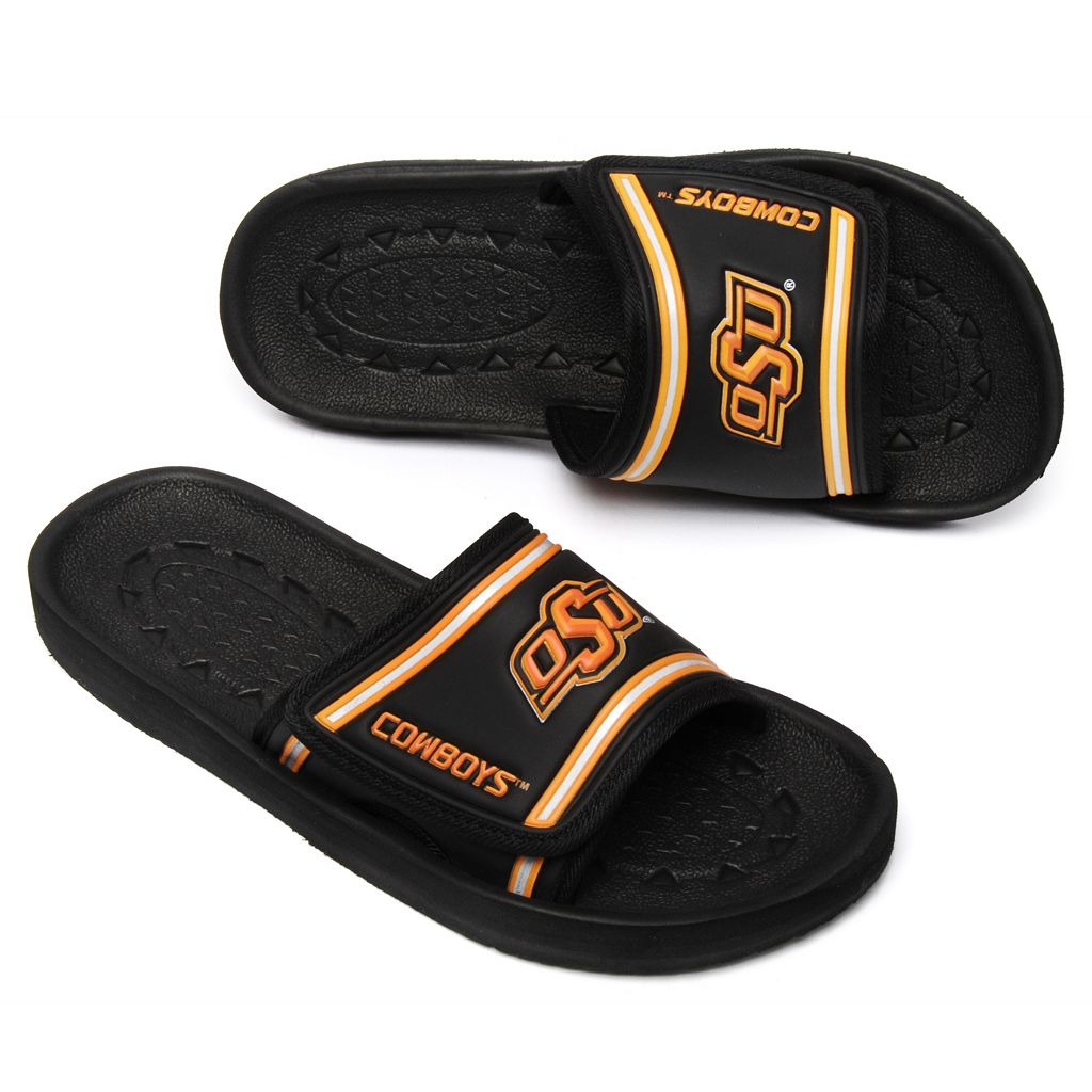 Adult Oklahoma State Cowboys Slide Sandals