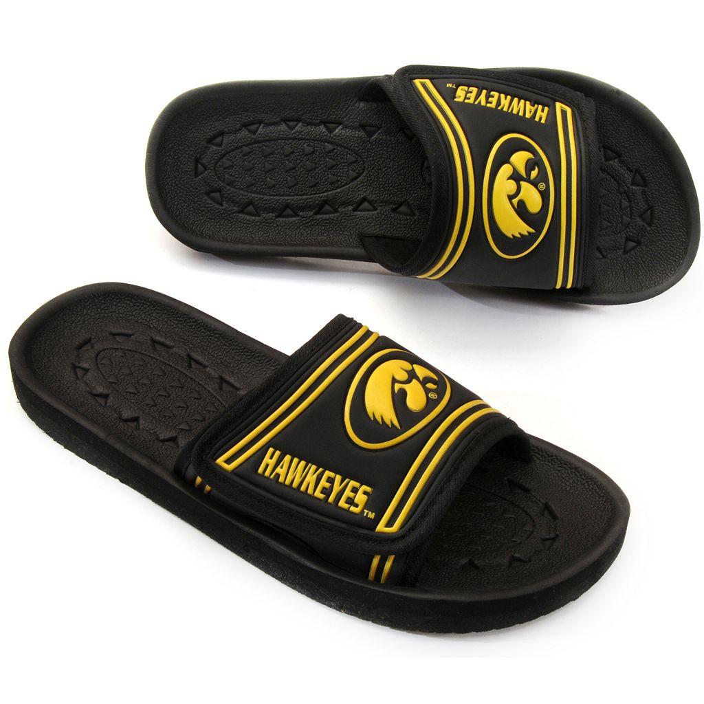 Adult Iowa Hawkeyes Slide Sandals