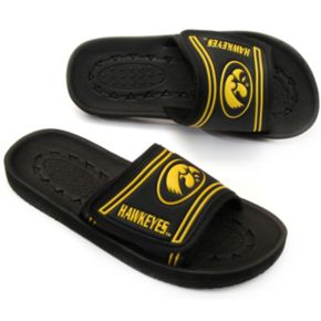 Adult Iowa Hawkeyes Slide Sandals