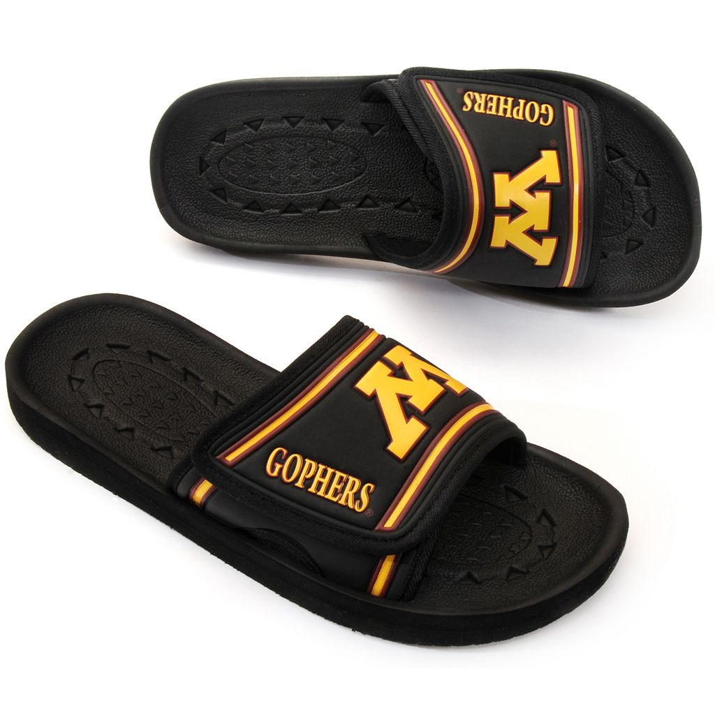 Adult Minnesota Gophers Slide Sandals