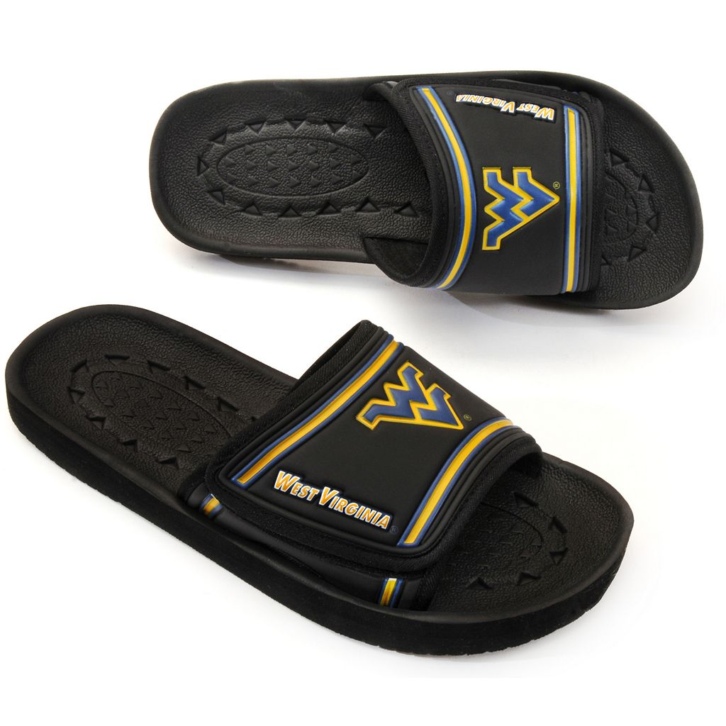 Adult West Virginia Mountaineers Slide Sandals