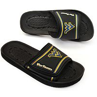 Adult West Virginia Mountaineers Slide Sandals