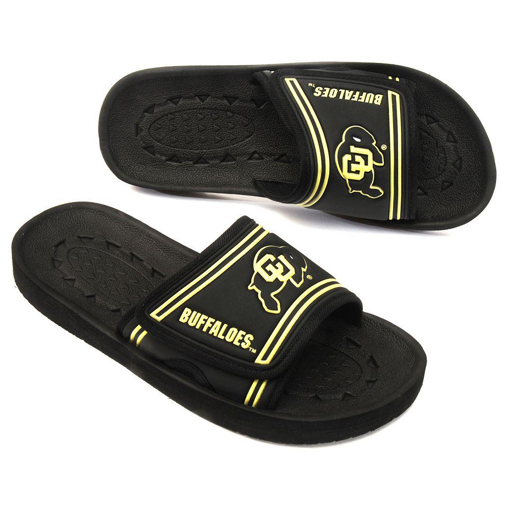 Adult Colorado Buffaloes Slide Sandals