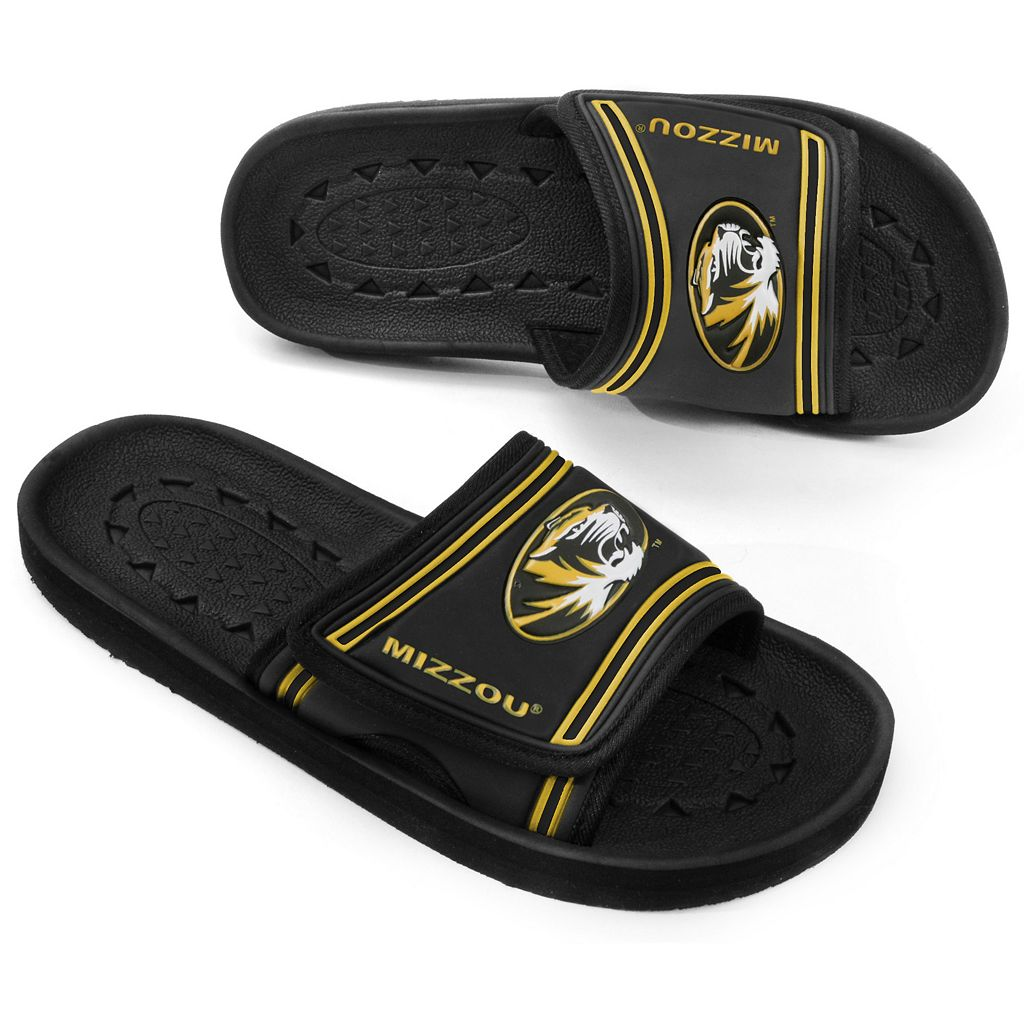 Adult Missouri Tigers Slide Sandals