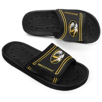 Adult Missouri Tigers Slide Sandals