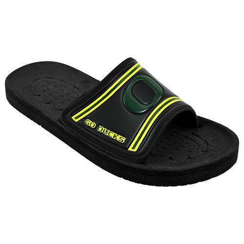 cheap online store Manchester Adult Oregon Ducks Memory Foam ... Slide Sandals buy cheap limited edition KCnEBDzW