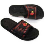 Louisville Cardinals Slide Sandals
