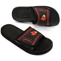 Adult Louisville Cardinals Slide Sandals