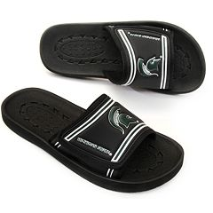 Adult Michigan State Spartans Slide Sandals