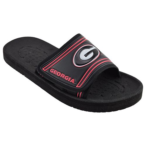 Adult Georgia Bulldogs Slide Sandals
