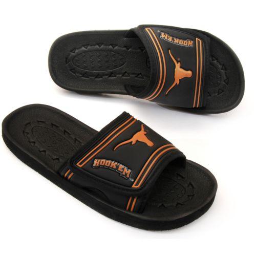 Texas Longhorns Slide Sandals - Adult