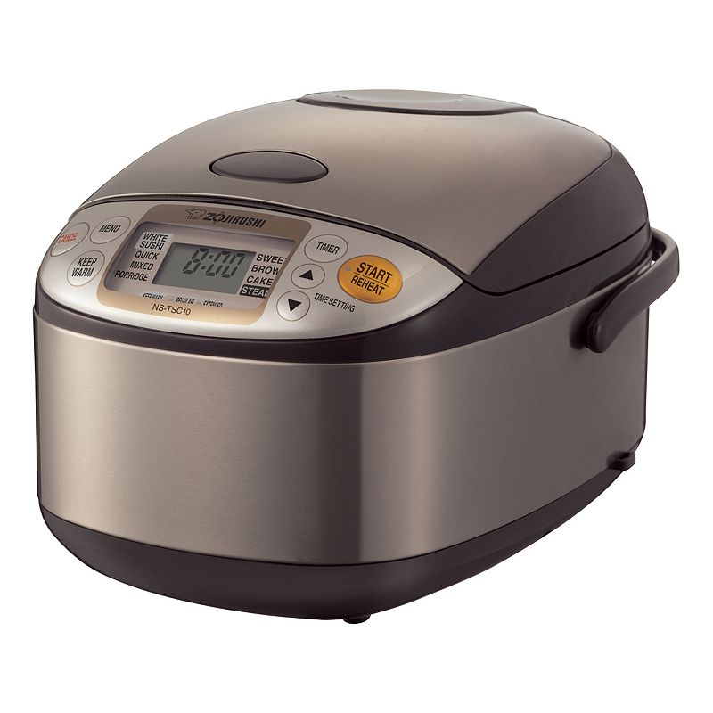 Zojirushi Micom 5.5-Cup Rice Cooker and Warmer, Multicolor