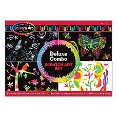 Melissa & Doug Scratch Art Magic Deluxe Kit