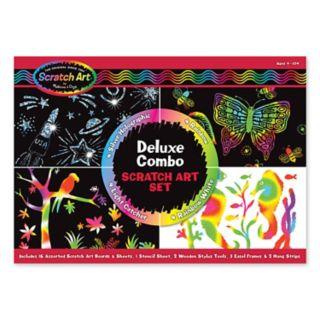 Melissa and Doug Scratch Art Magic Deluxe Kit
