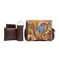 Kalencom Jungle Paisley Diaper Bag Set