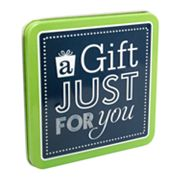A Gift Just For You Gift Card Tin