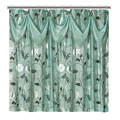 Popular Bath Avanti Fabric Shower Curtain