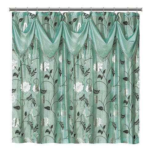 Popular Bath Avanti Fabric Shower Curtain