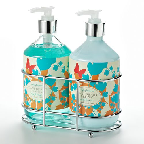 Simple Pleasures Raspberry Peony Hand Soap And Hand