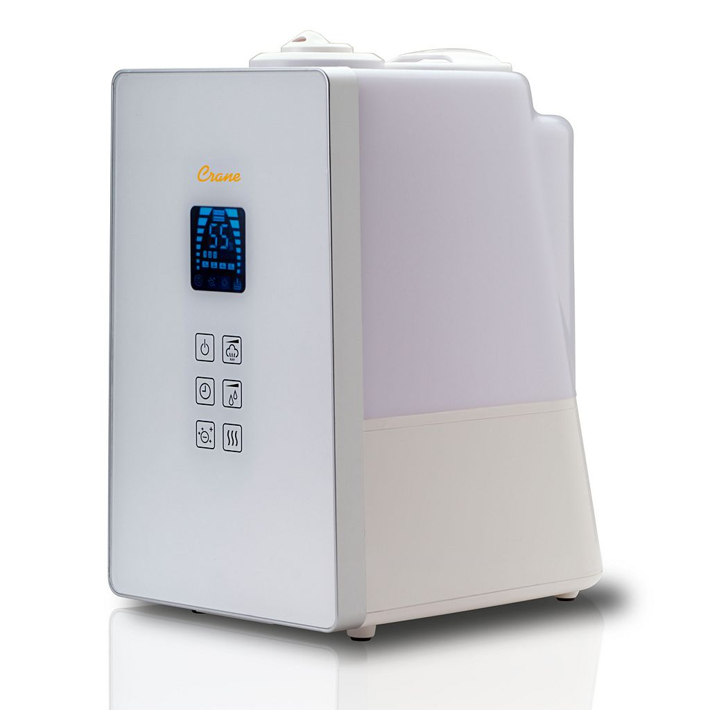 Crane Germ Defense Digital Cool and Warm Mist Humidifier