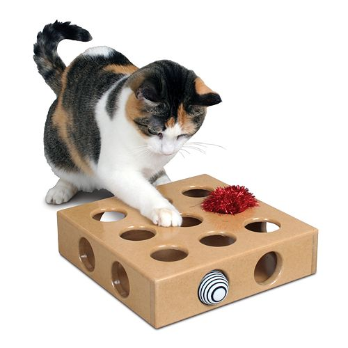 Pioneer Pet Smartcat Peek And Play Toy Box