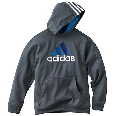 adidas Performance Fleece Hoodie - Boys 8-20