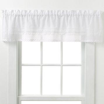 CHF & You Crochet Window Valance