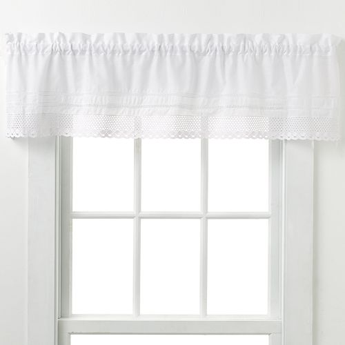CHF & You Crochet Window Valance