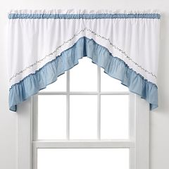 CHF & You Jayden Swag Curtain Pair - 30'' x 60''