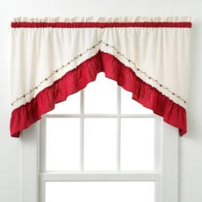 CHF and You Jayden Swag Curtain Pair - 30'' x 60''