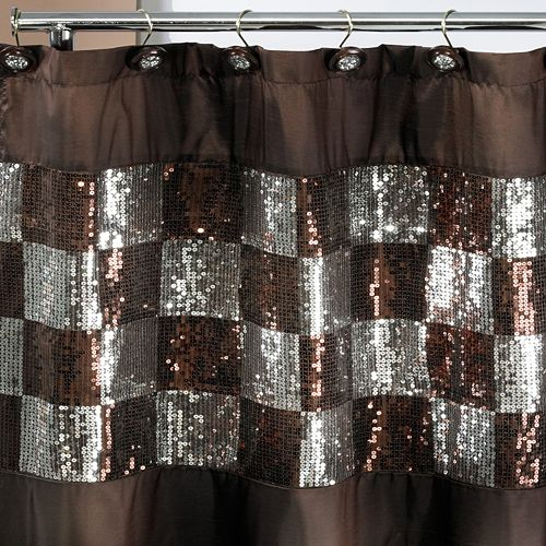 Popular Bath Elite ORB Fabric Shower Curtain