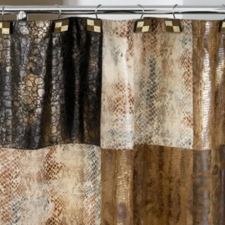 Popular Bath Zambia Fabric Shower Curtain