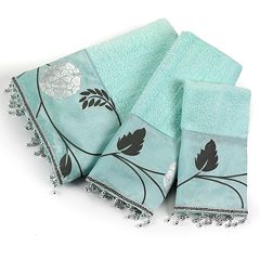 Popular Bath Avanti 3 pc Bath Towel Set
