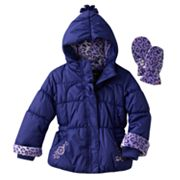 ZeroXposur Kate Jacket and Mittens Set - Toddler