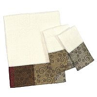 Popular Bath Miramar 3 pc Bath Towel Set