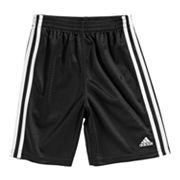 adidas Side-Striped Mesh Shorts - Toddler