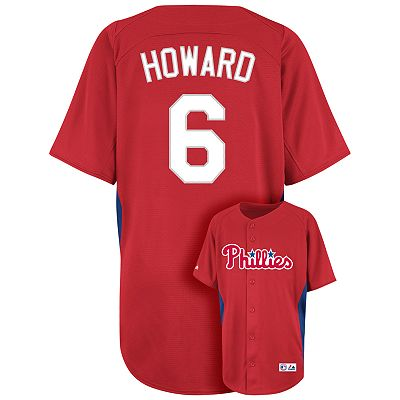 Majestic Philadelphia Phillies Ryan Howard MLB Jersey - Boys 8-20