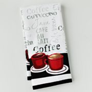 Croft and Barrow Cafe Chef Kitchen Towel