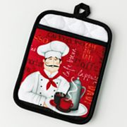 Croft and Barrow Cafe Chef Potholder