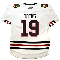 Reebok® Boys 8-20 Chicago Blackhawks Jonathan Toews White Jersey