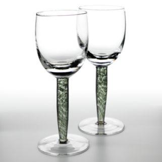 Denby Jet 2-pc. Red Wine Glass Set