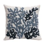 HH Beach House Embroidered Decorative Pillow