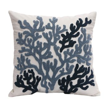Kohls Nautical Throw Pillows : HH Beach House Embroidered Decorative Pillow