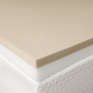 Cameo 4-in. Queen Combination Memory Foam Mattress Topper - 57'' x 77''