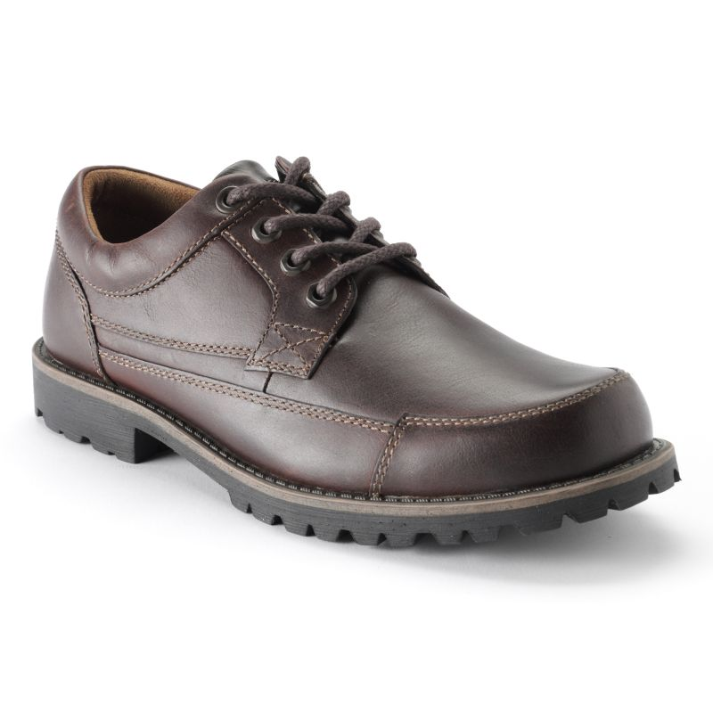 chaps brown belville dress shoes