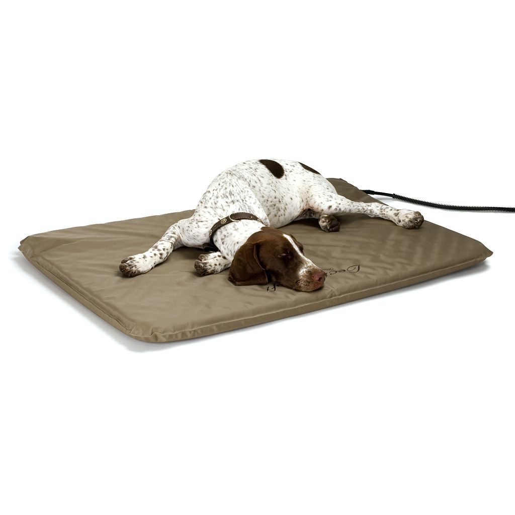 K&H Pet Lectro-Soft Heated Rectangle Pet Bed - 36