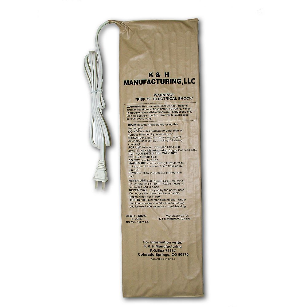 K&H Rectangle Pet Bed Warmer - 9.8'' x 8.5''